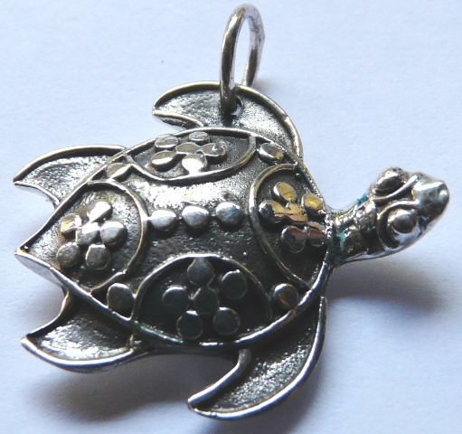 Turtle Decor Pendant